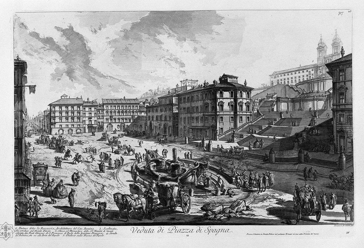 Площадь Piazza di Spagna